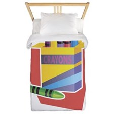 Color your life happy Twin Duvet