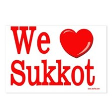we love sukkot Postcards (Package of 8)