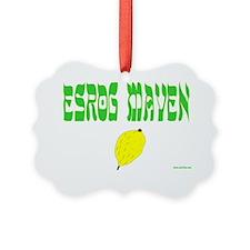 esrog maven Ornament