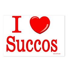 i love succos Postcards (Package of 8)