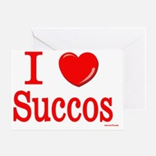 i love succos Greeting Card