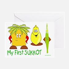 MY FIRST SUkkot Greeting Card