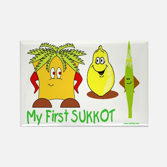 MY FIRST SUkkot Rectangle Magnet