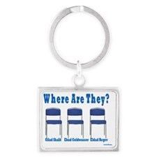 Kidnapped Israeli Soldiers Landscape Keychain