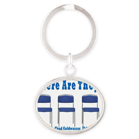 Kidnapped Israeli Soldiers Oval Keychain