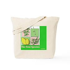 Te Four Species Succah Poster Tote Bag