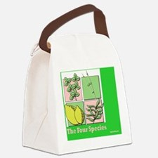 Te Four Species Succah Poster Canvas Lunch Bag