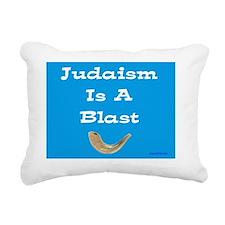 Judaism is a blast Rectangular Canvas Pillow