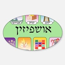 Ashpezin Poster Sticker (Oval)