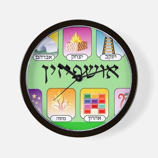 Ashpezin Poster Wall Clock
