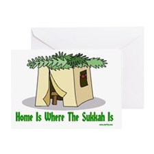 Home is Where the Sukkah Is Poster Greeting Card