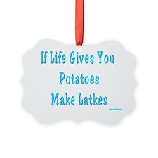 Make Latkes Ornament