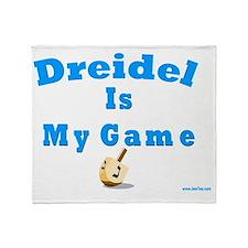 Dridel Is My Game Throw Blanket