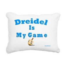Dridel Is My Game Rectangular Canvas Pillow