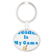Dridel Is My Game Oval Keychain