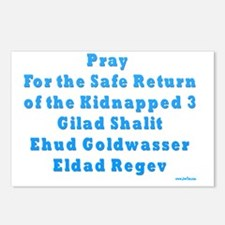 Kidnapped Israeli Soldier Postcards (Package of 8)