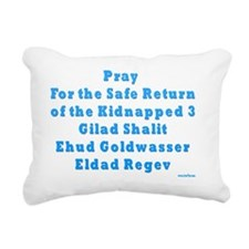 Kidnapped Israeli Soldie Rectangular Canvas Pillow