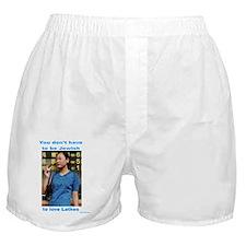 Everyone likes latkes Boxer Shorts