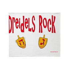Driedels rock Throw Blanket