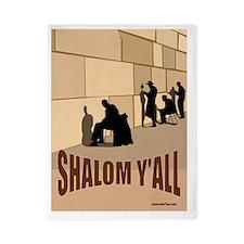 Shalom Yall Kotel Twin Duvet