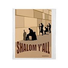 Shalom Yall Kotel Throw Blanket