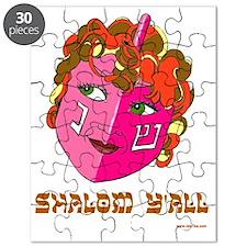 Shalom YAll Dreidel Puzzle