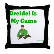 Driedel is My Game Throw Pillow