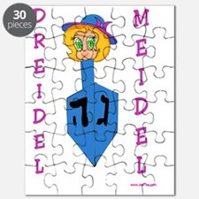 Chanukah Dreidel Meidel Puzzle