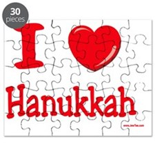 I love Hanukkah Puzzle