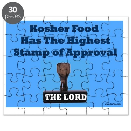 Kosher Stamp Of Approval Puzzle By Admin CP5158327