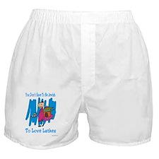 Jewish Latkes Boxer Shorts