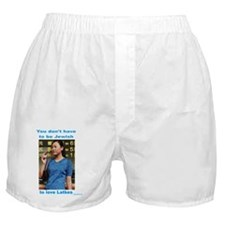 Everyone loves latkes Boxer Shorts