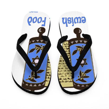 jewish soul food torah Flip Flops