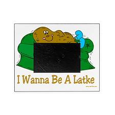 Couch potato latke Picture Frame