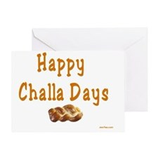 Happy Challa Days flat Greeting Card