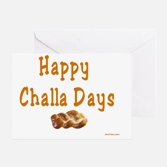 Happy Challa Days flat Greeting Card