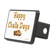 Happy Challa Days flat Hitch Cover