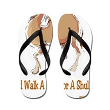 Walk Mile for Shul Flip Flops