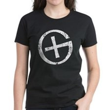 Geocaching symbol distressed Tee
