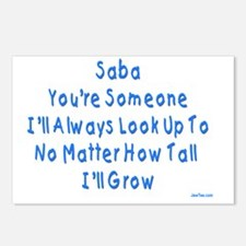 Look up to Saba Postcards (Package of 8)