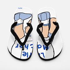 little Macher 2d Flip Flops