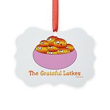 THe Grateful Hanukkah Latkes Ornament