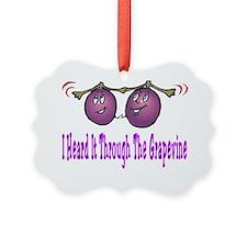 heard grapevine zazzle Ornament
