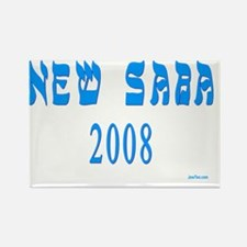 new saba 2008 flat Rectangle Magnet