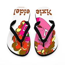 Dixie Dreidel Flip Flops