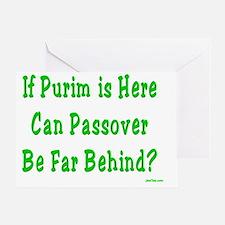 purim passover Greeting Card