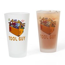 tool guy Drinking Glass