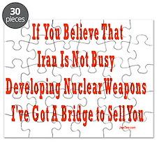 iran nuclear flat Puzzle