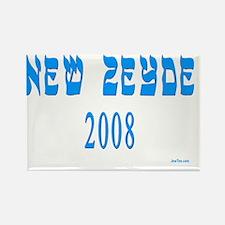 new zeyde 2008 Rectangle Magnet
