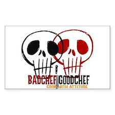BadChef GoodChef Logo Decal